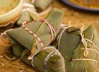 鱼香荷叶粽