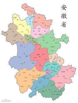 合肥市行政区划地图