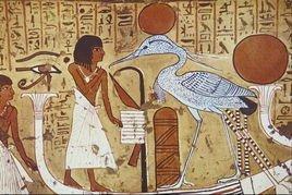 古埃及法老像(大英博物馆)图片