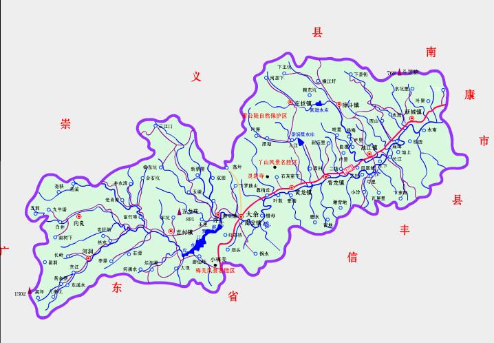 广东拼音手绘地图