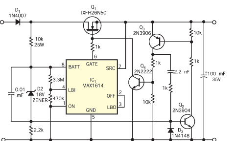 电路过电流过电压保护