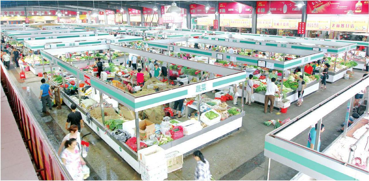 标准化菜市场