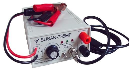 瞬间大电流的脉冲直流变换器折叠 编辑本段基本简介 电鱼机的原理就是