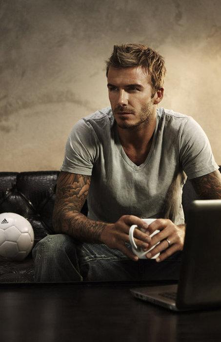 Beckham hairstyle 2005