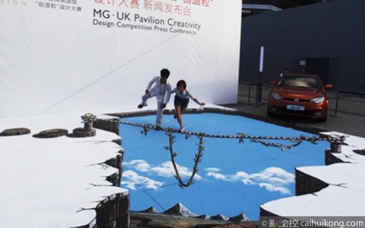 建筑街景素材墙绘图片