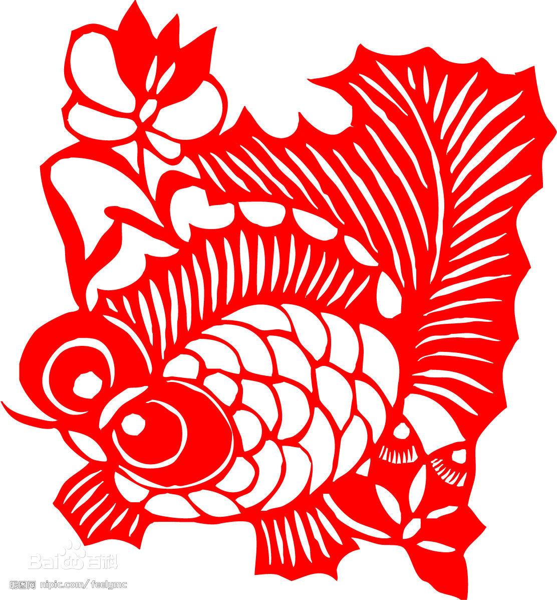 民间剪纸之所以能够历经中国漫长的历史演进,而不失其纯净和清新的特质,与中国农村稳固的社会结构和文化结构有着密切的关系。它自身存在过程中所具有的互为矛盾,又互为统一的不同特性,决定了其对于不断变革侧自然选择方式,从而与宫廷艺术、文人艺术拉开了间距。 佛像剪纸 1.依附性与独立性的统一   民间剪纸是附合民间习俗的必不可少一种艺术活动。它的存在,就必定依附于民间特定的文化背景与生活环境。家中有白事,窗户上不能贴得红红火火;娃娃不生病,老奶奶也不肯剪一串吊魂的小人人;用于摆衬礼品的,要看是办喜事、丧事还是做寿