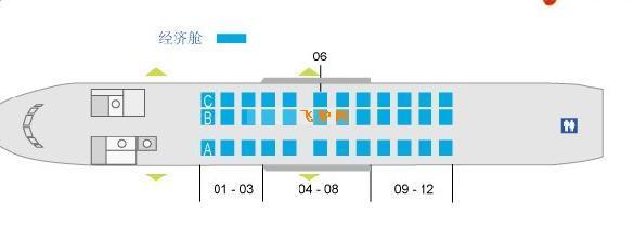 机型座位图