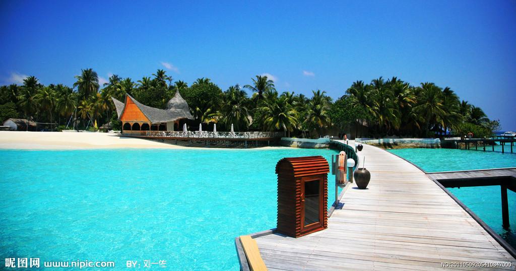 马尔代夫风景摄影图_东南亚