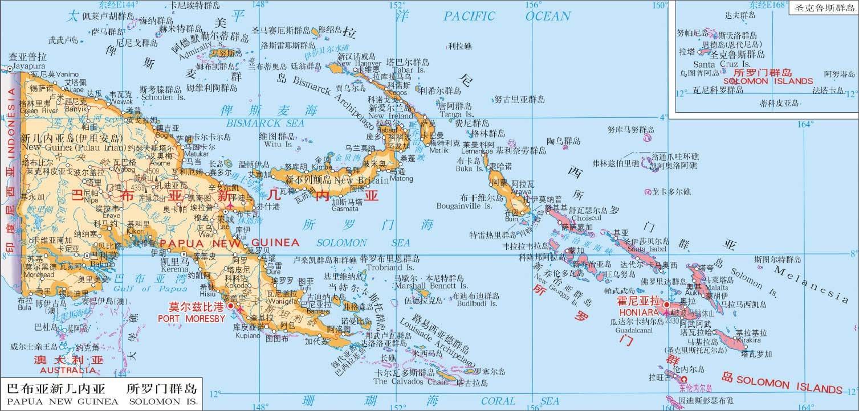 全世界地图海峡