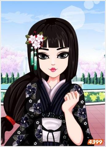 基本信息游戏名称:樱花女孩爱化妆[1游戏类型:装扮小游戏游戏