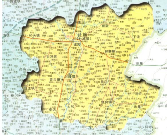 程委镇地图