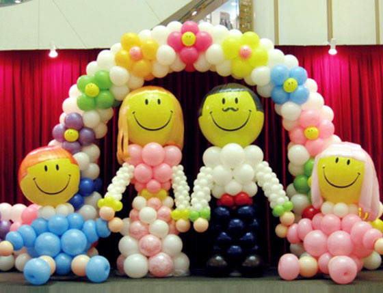 心形气球造型2