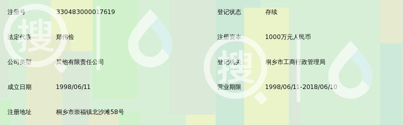 桐乡钱江生物化学有限公司