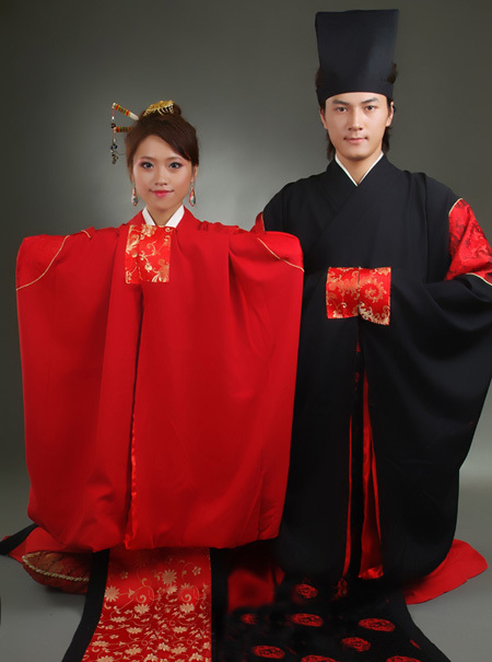 汉族服装设计图