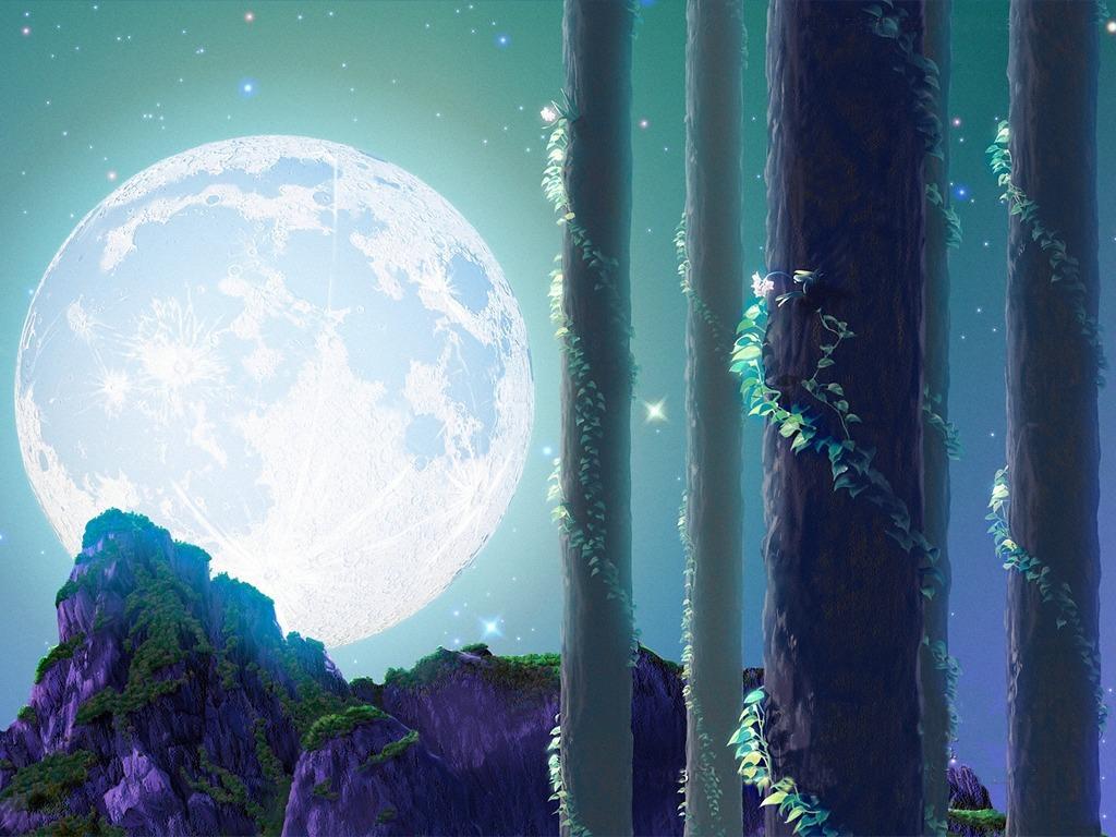 描写月亮的雅称