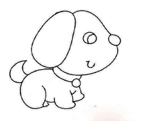 儿童简笔画 动物 人物 彩色版
