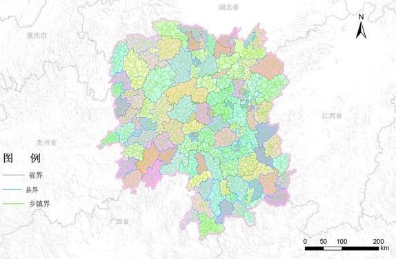 湖南省行政区划