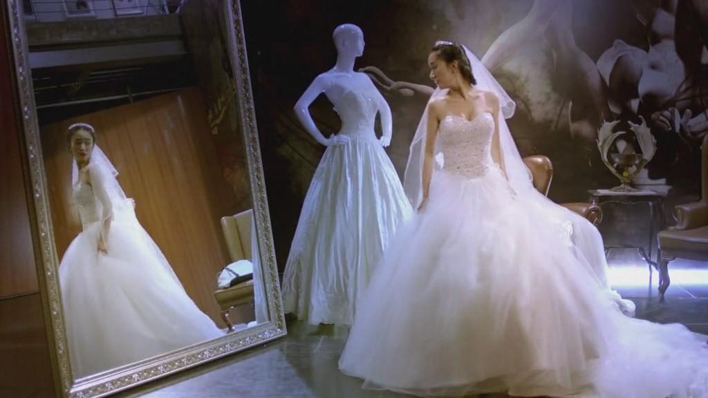 娃娃婚纱制作图解