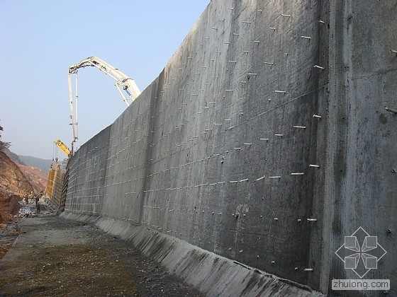 >> 文章内容 >> 悬臂式挡土墙  悬臂式挡土墙和重力式挡土墙有什么图片