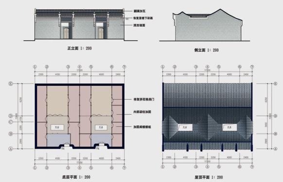 汉代卧室结构图