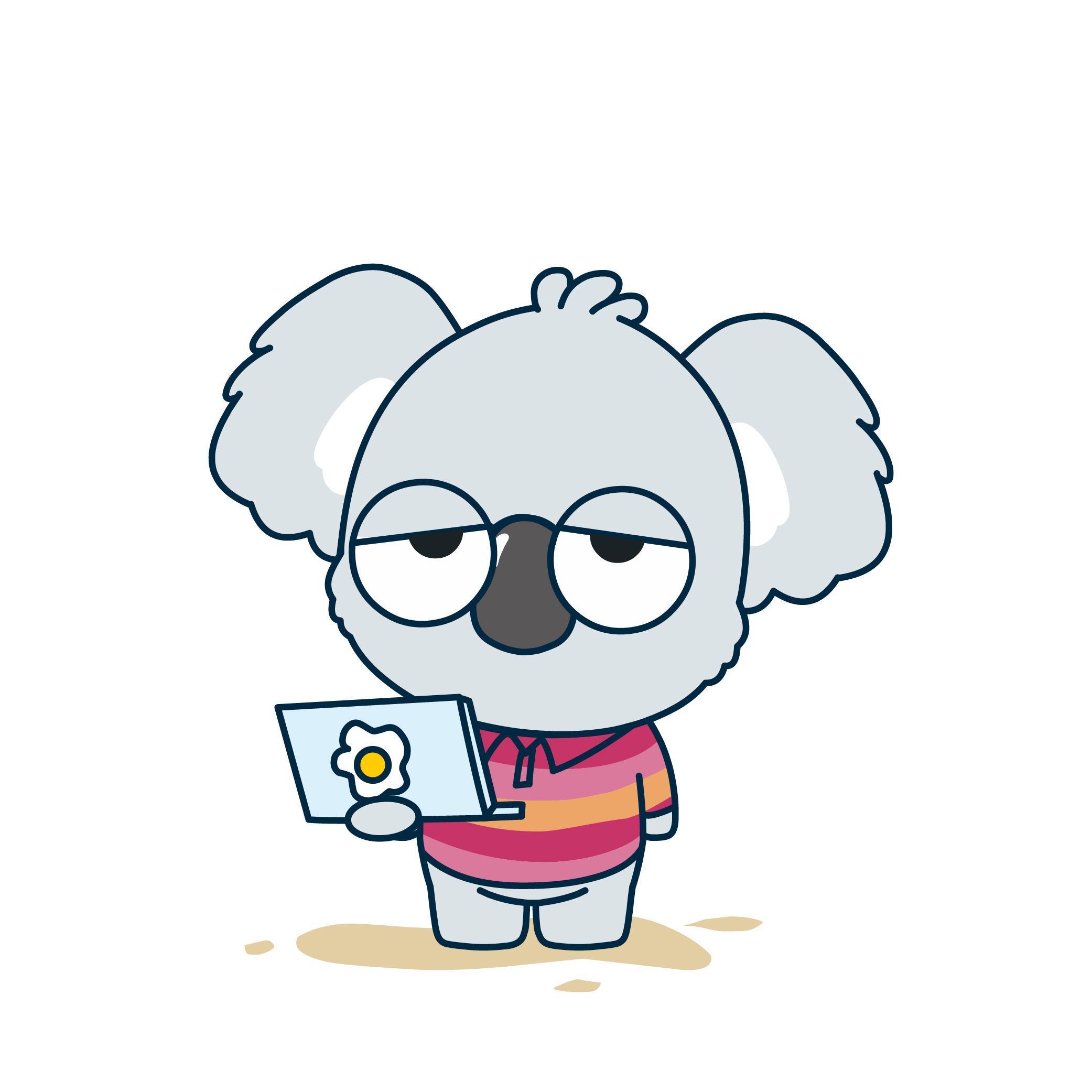 卡通考拉-考拉卡通图片大全可爱_考拉卡通人物_卡通