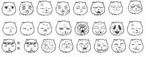 """""""猥琐猫""""原形为""""猫叔"""",因网络热传此表情,导致原形被恶搞后的""""猥琐猫"""""""