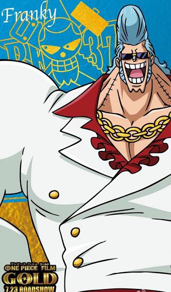 海贼王头像简笔画弗兰奇