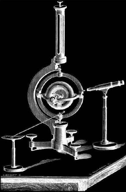应用了平衡环结构原理的陀螺仪来到世界上