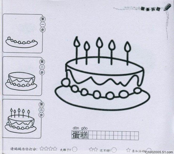 儿童形状手绘导图