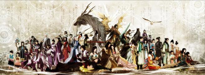 《古剑奇谭》人物群像