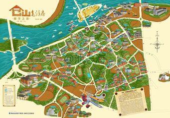仓山老洋房手绘地图