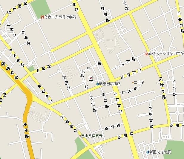 区境内有:乌鲁木齐经济技术开发区(街道),乌鲁木齐高新技术产业开发区
