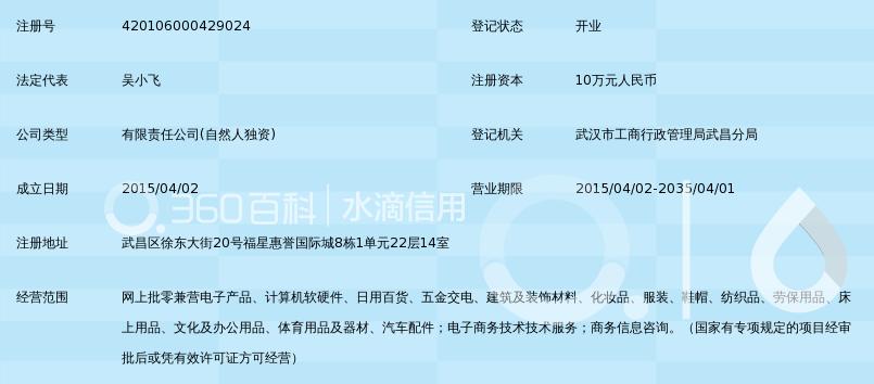 武汉山阳朗伦电子商务有限公司_360百科